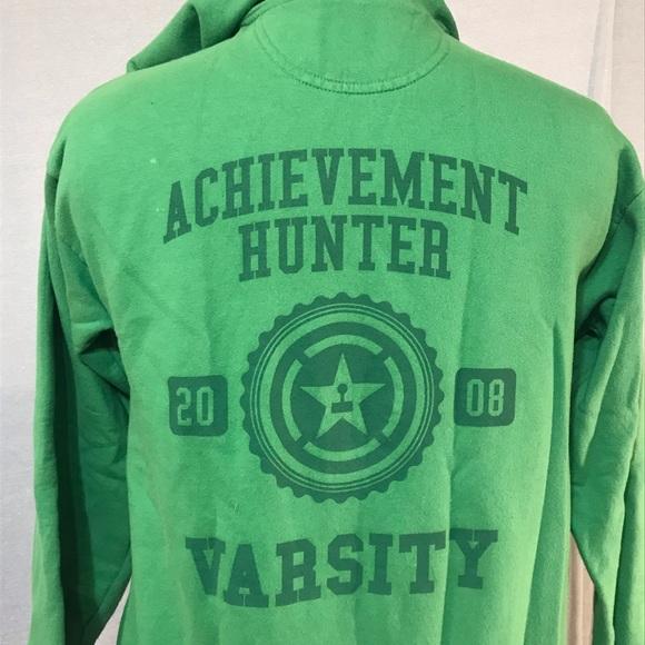9d3490760ac2 Rooster Teeth Achievement Hunter hoodie. M 5bcb82babaebf6cdea95ecc4